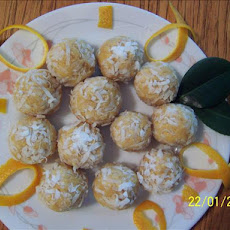 Quick Coconut Orange Balls