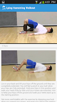 Screenshot of Home Exercise for Toned Legs