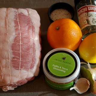 Slow Braised Pork Leg with Citrus and Fajita Seasoning