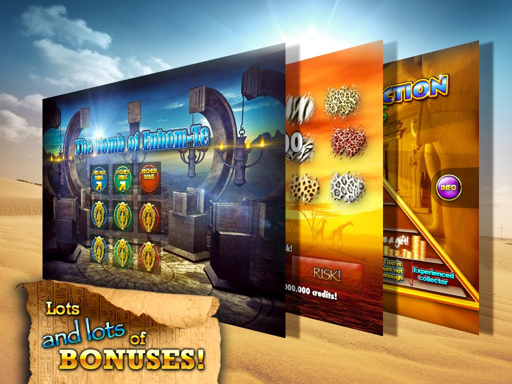 Slots - Pharaoh's Way Screenshot 8