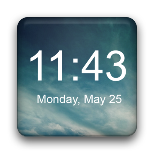 Digital Clock Widget Appar (APK) gratis nedladdning för Android/PC/Windows