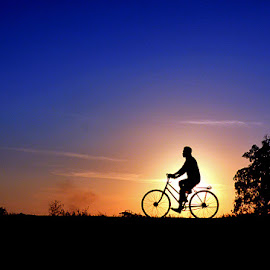 cycling to the sun by Abdul Aziz - Sports & Fitness Cycling ( cycling, indonesia )