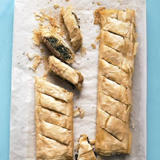 Spinach Phyllo Pie
