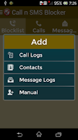 Screenshot of Call N Sms Blocker Pro