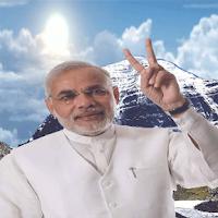 Screenshot of Narendra Modi Livewallpaper V1