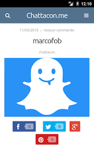 Chat! Snapchat KIK Skype nick - screenshot