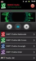 Screenshot of RADIO MAROC