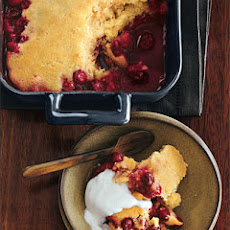 Cranberry-Maple Pudding Cake