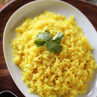 Fragrant Yellow Rice