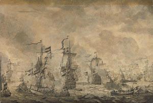 RIJKS: Willem van de Velde (I): painting 1665