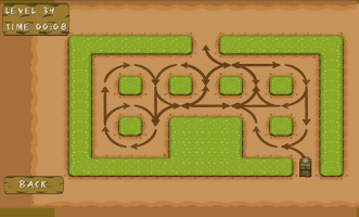 Screenshot of Logic Maze Free