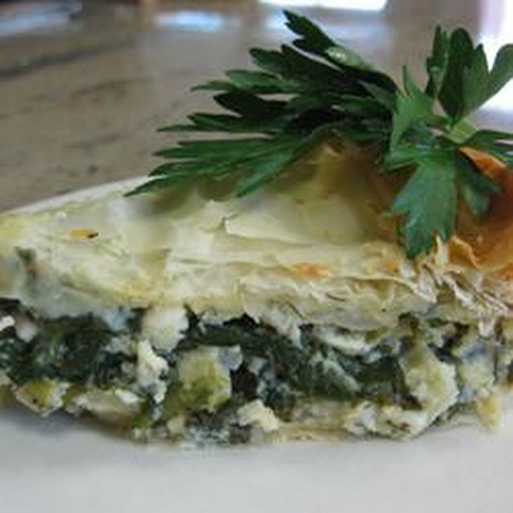 Spanakopita (Greek Spinach Pie) Recipes — Dishmaps