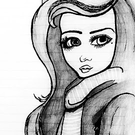 ..:* :) by Surbhi Shetty - Painting All Painting ( gal, office, tym, tp, sketching, deep, eye, luved, it, painting, hobby )