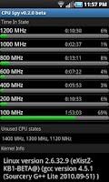 Screenshot of CPU Spy
