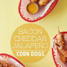 Bacon Cheddar Jalapeño Corn Dogs