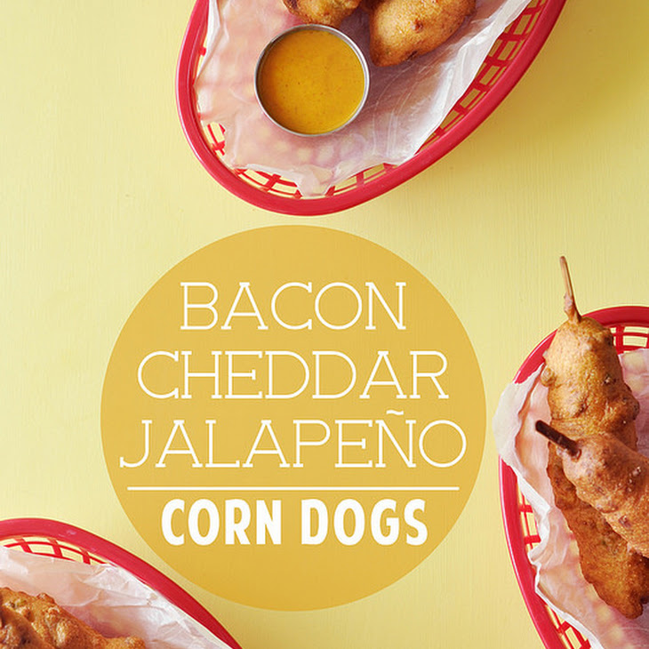 Bacon Cheddar Jalapeño Corn Dogs Recipe | Yummly