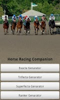 Screenshot of Horse Racing Companion