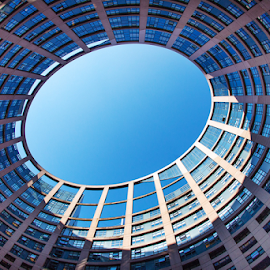 European Parliament by Elena Cosma - Buildings & Architecture Office Buildings & Hotels ( parliament., france, bilding, strazbourg )