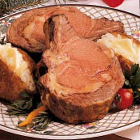 Prime Rib and Potatoes