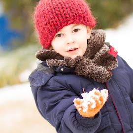 Georgia Snow Day by Jamie Massarello - Babies & Children Toddlers ( snow, snowball, georgia )