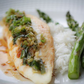 ​Asian Tilapia with Asparagus