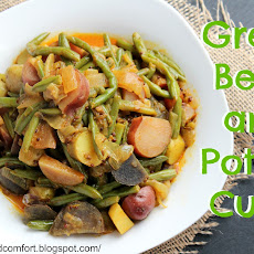 Green Bean and Potato Curry