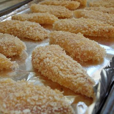 Crispy Tilapia Fingers with Lemon-Garlic Mayonnaise