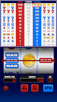 Screenshot of Stars, 7s & BARs Slot Machine