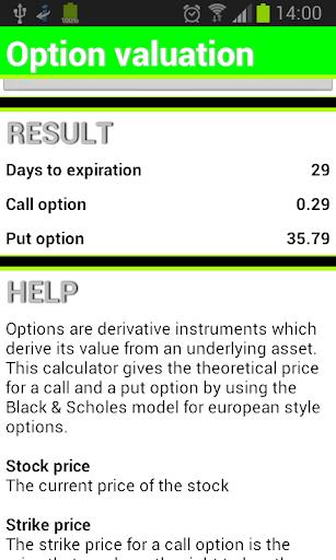 Finance Calculator - screenshot