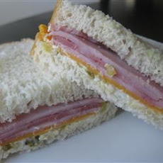 Special Ham and Cheese Sandwiches