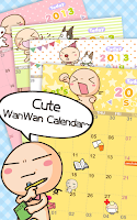 Screenshot of WanWan Calendar HD