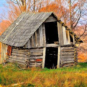La poalele Gutinului...© foto: Costel Ciobanu by Costel Ciobanu - Buildings & Architecture Decaying & Abandoned (  )