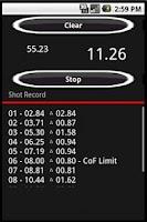 Screenshot of Shot Timer