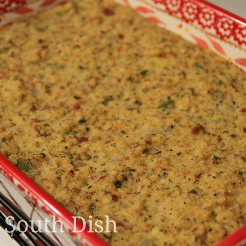 Cornbread Sage Dressing with Gravy