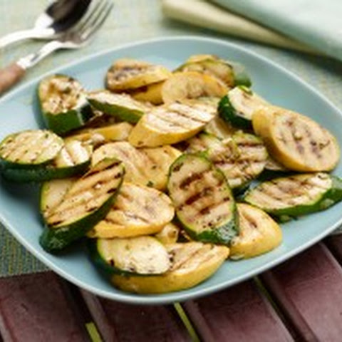 Marinated Zucchini and Summer Squash