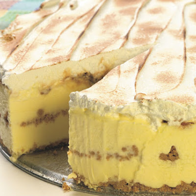 Lemon-Caramel Icebox Cake