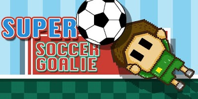 Screenshot of Super Soccer Goalie
