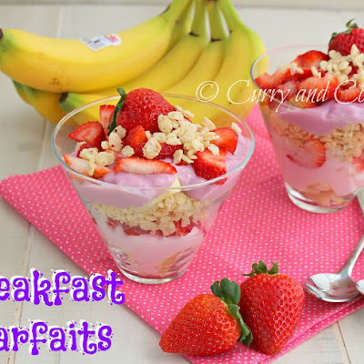 Breakfast Parfaits