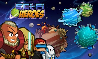 Screenshot of Sci-Fi Heroes