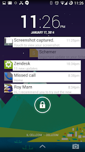 NiLS Theme - Hangouts - screenshot