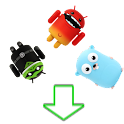 Falling Android Figurines icon
