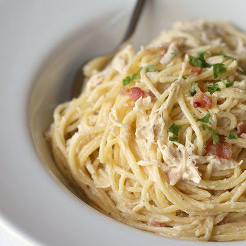 Slow-Cooker Bacon-Ranch Chicken and Pasta