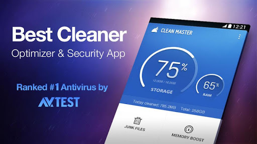 clean-master-free-optimizer for android screenshot