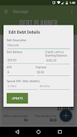 Screenshot of Debt Planner & Calculator
