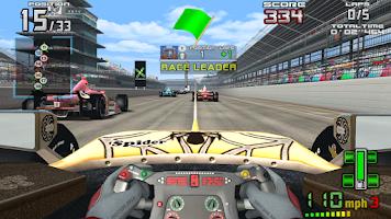 Screenshot of INDY 500 Arcade Racing