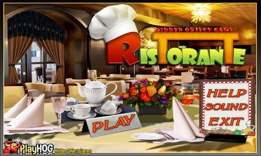 Ristorante Free Hidden Object - screenshot