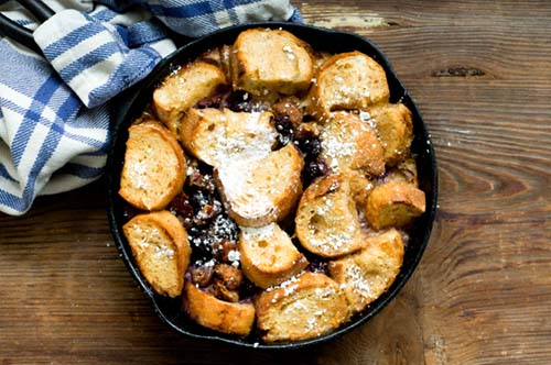 French Toast Casserole With Blueberries And Sausage Recipe | Yummly