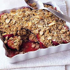 Maple Plum Crumble