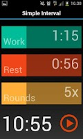 Screenshot of Simple Interval Timer