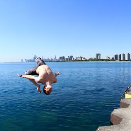 get cooled in Chicago by Eurico David - Sports & Fitness Swimming